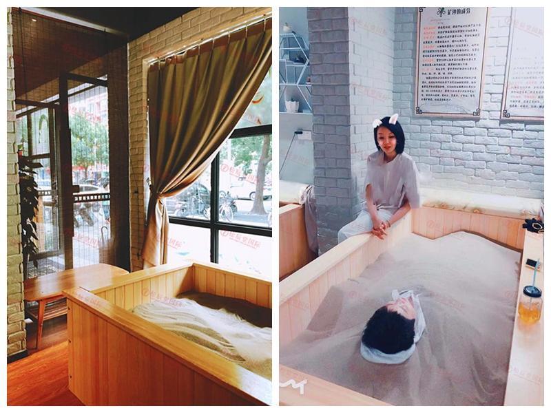 上海长宁区沙疗床
