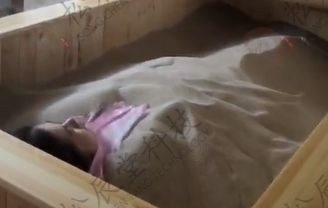 新疆伊犁沙疗床客户案例